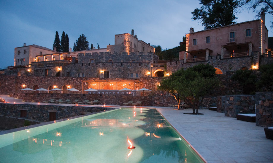 The Kinsterna Hotel & Spa at Monemvasia, Greece.