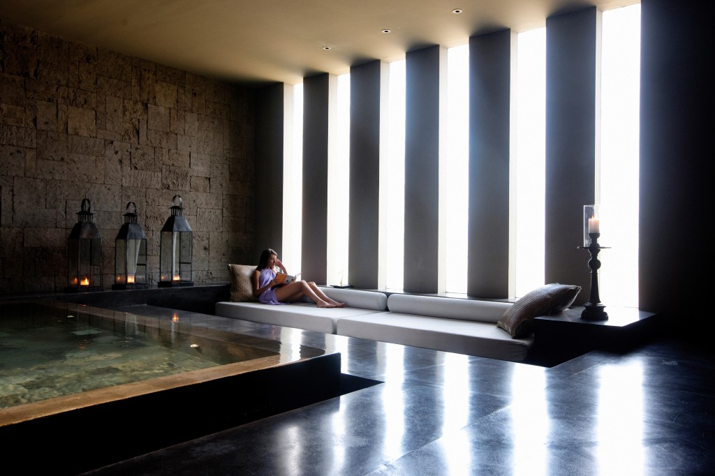 Sta relaxation lounge at Alila Soori, Bali