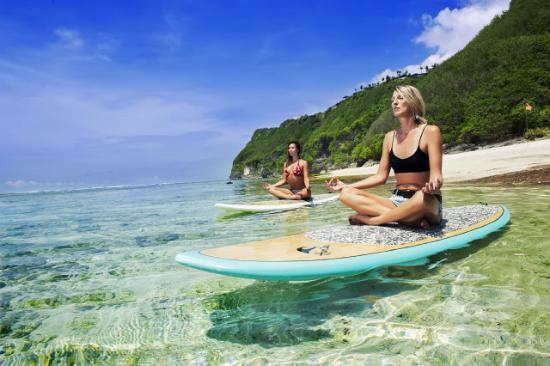 Water fun at Karma Beach, Bali