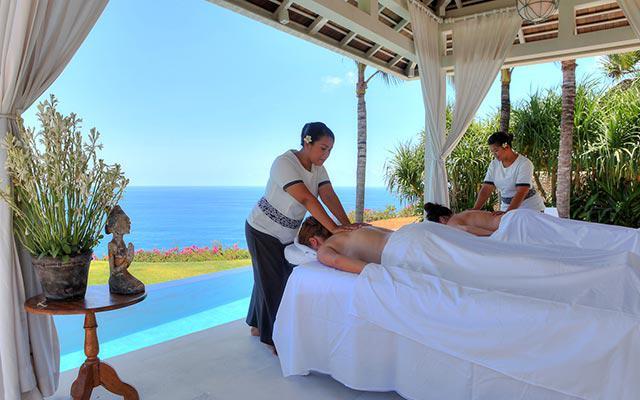 In-villa massage at Semara Uluwatu, Bali