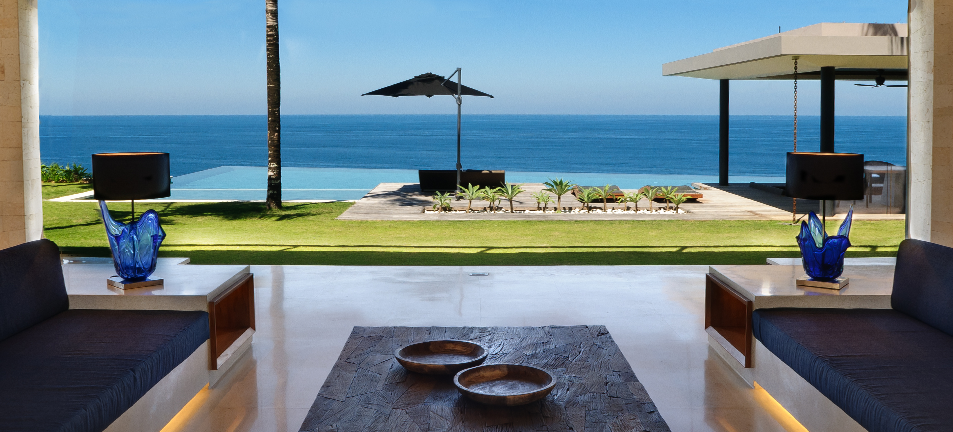 Outstanding views from Semara Luxury Villas, Bali