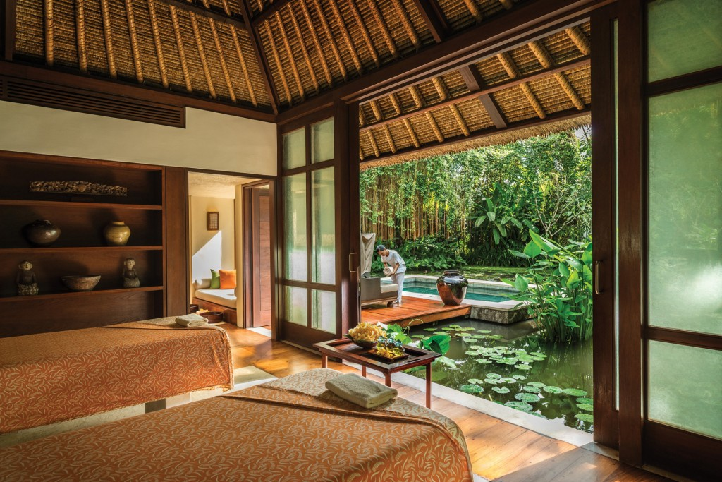 Spa Villa amongst the lotus ponds, Four Seasons Sayan, Bali