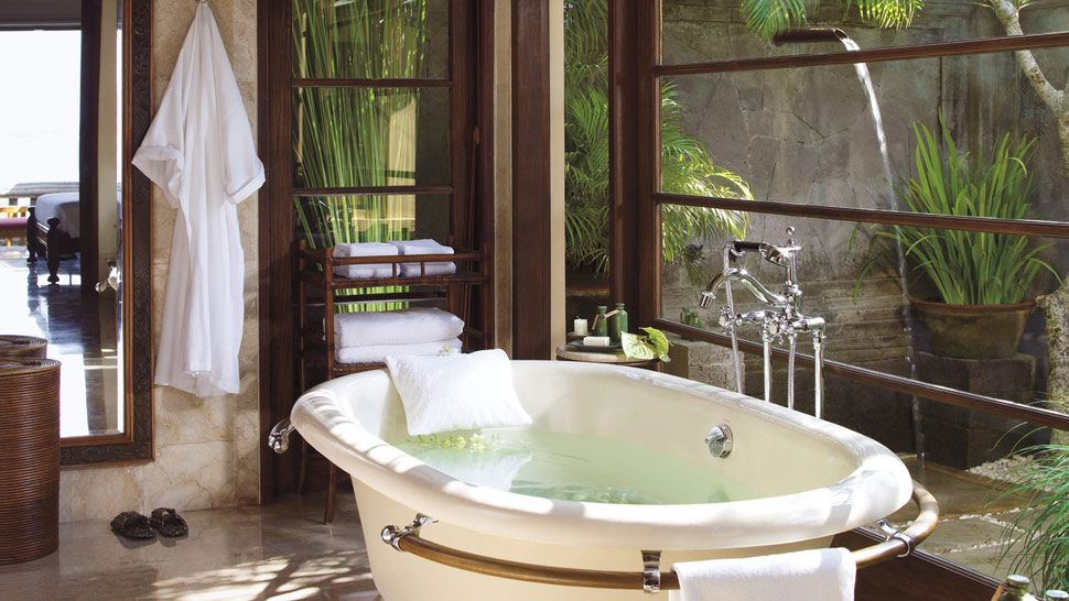 Bathroom in Four Seasons Jimbaran, Bali
