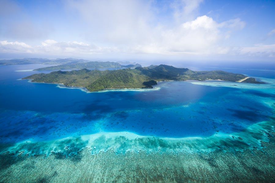 Laucala Island Aerial View, Fiji