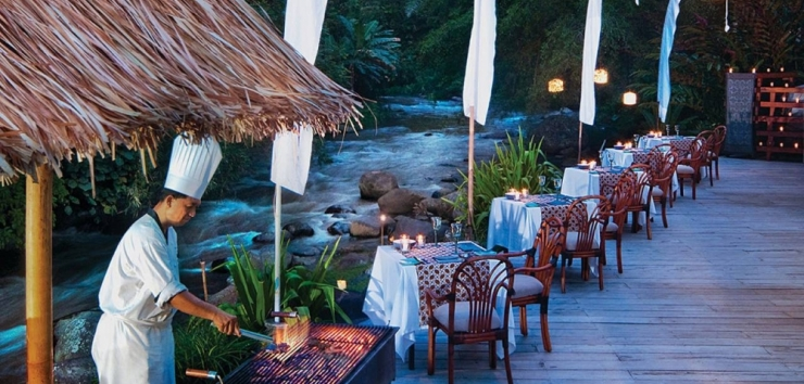 Riverside Cafe at Four Seasons Sayan, Bali