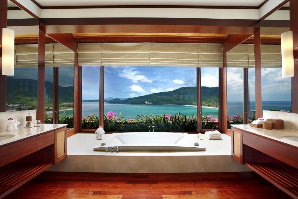 Pool Villa - Bathroom in  Master Bedroom