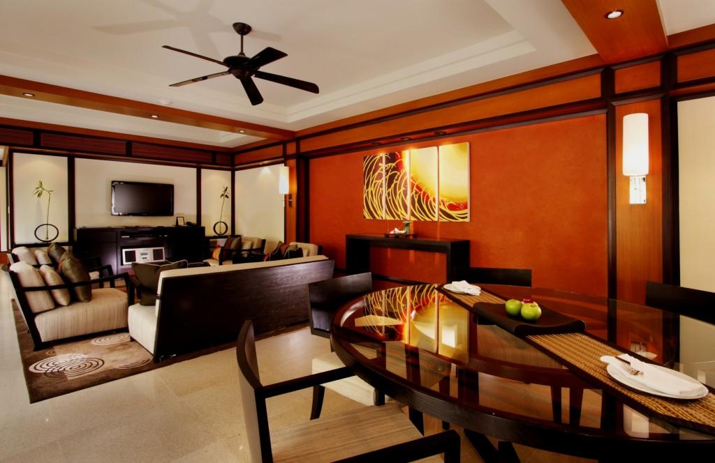 28150514-H1-Deluxe 2 Bedroom Pool Villa - living room