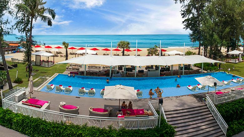 Xana Beach Club, Phuket, Thailand