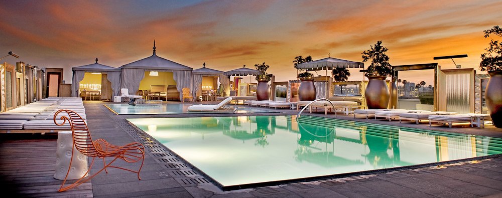 6 Best Rooftop Pools In Los Angeles California The Lux