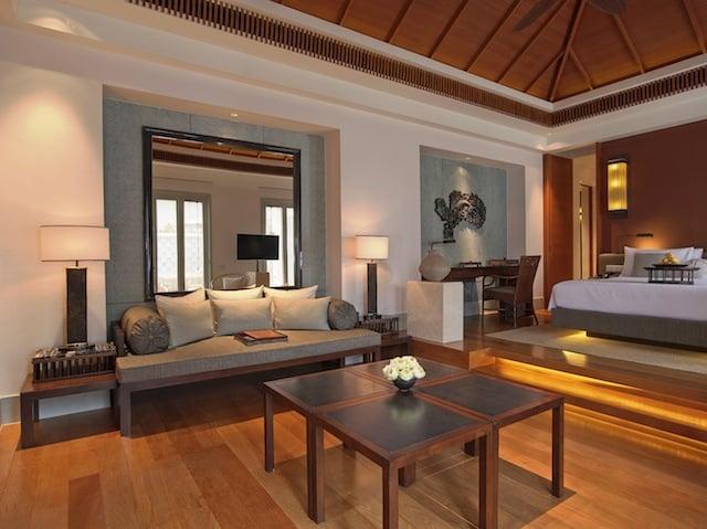 Regent Phuket Cape Panwa Sea View Pool Villa Interior 2