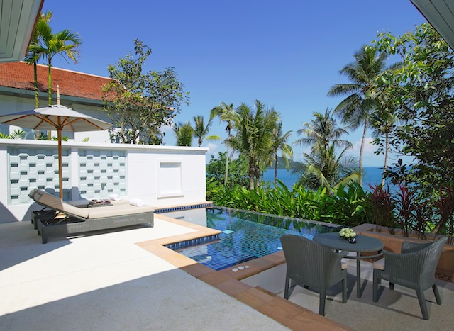Regent Phuket Cape Panwa Sea View Pool Villa Pool Terrace 2