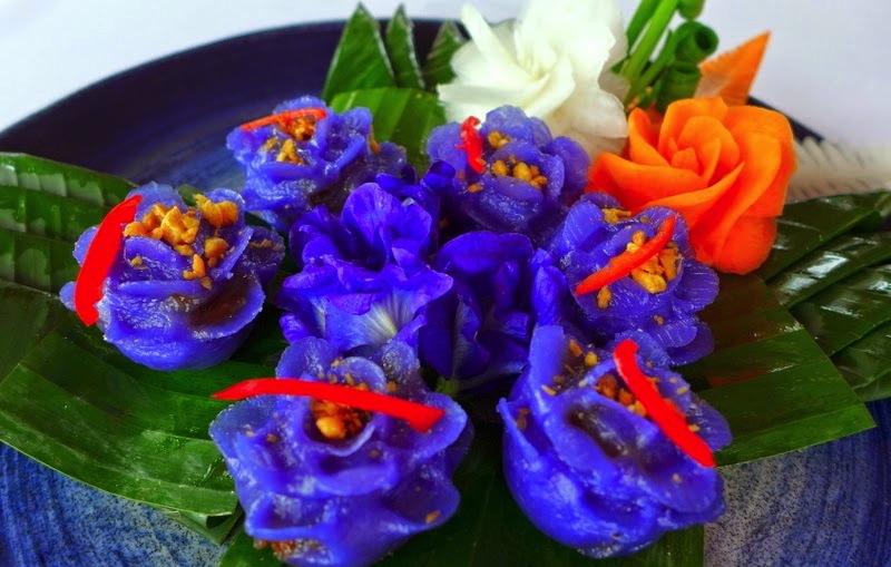 purple flower dumpling_baan