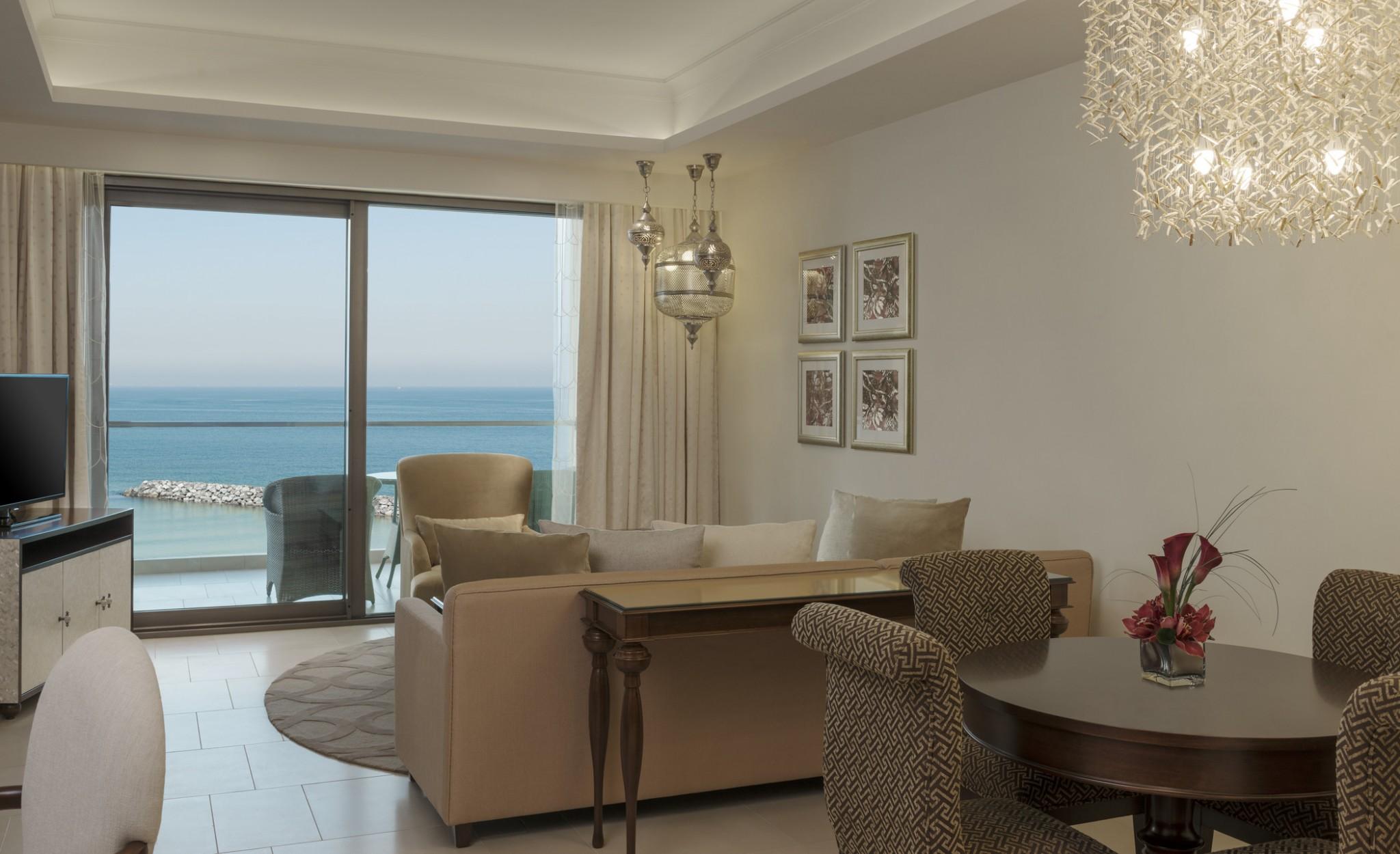 Ajman-Al Dana Suite - Living Area