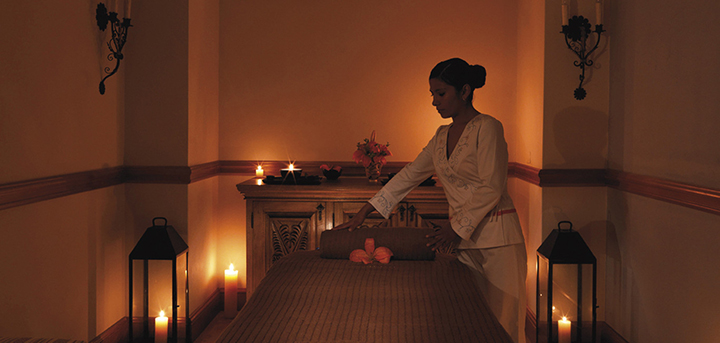 Palacio Nazarenas_Massage Room
