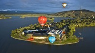 Balloons over Canberra, Australia