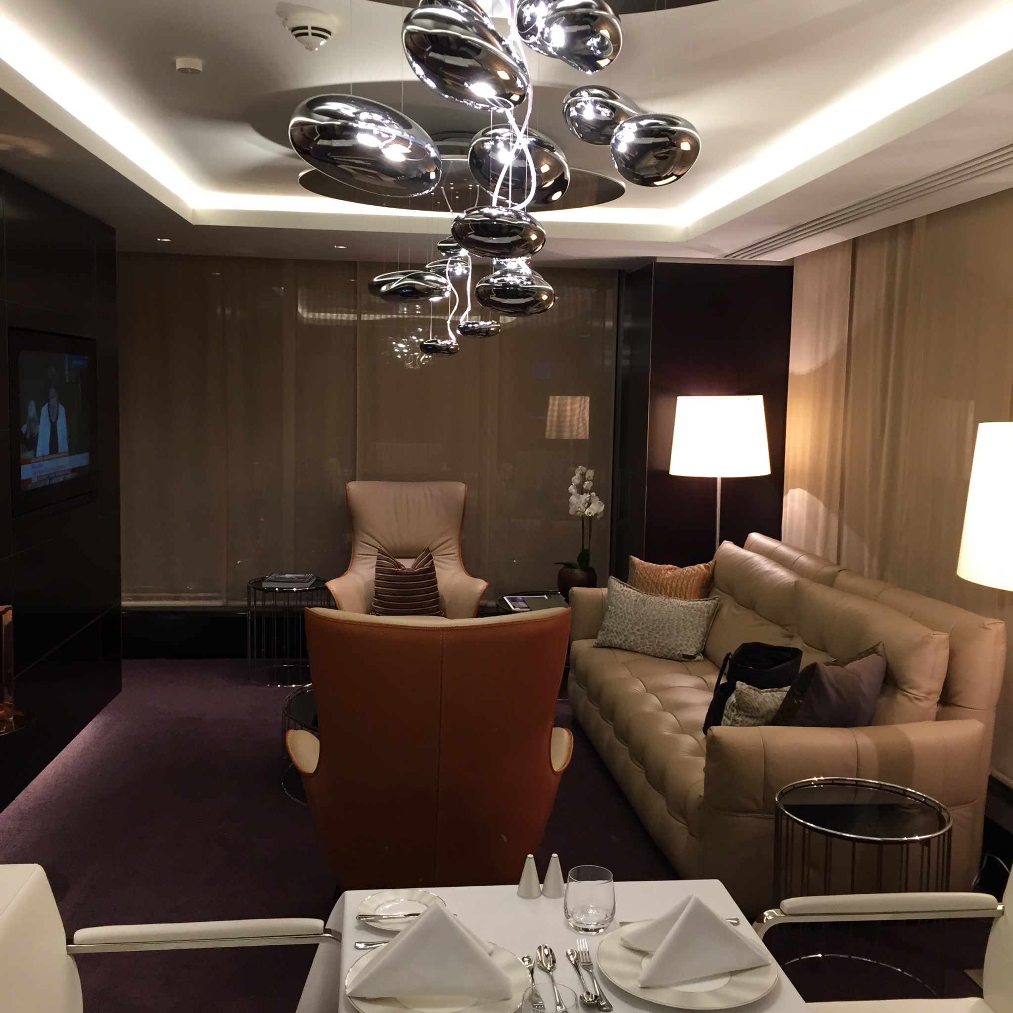 Private Suite In The Airport Lounge