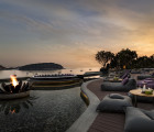 The Nai Harn at sunset, Phuket, Thailand