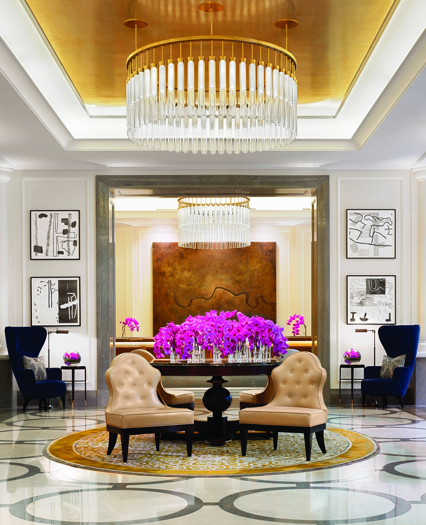 Royal weekend in corinthia hotel london the lux traveller for Hotel interior decor