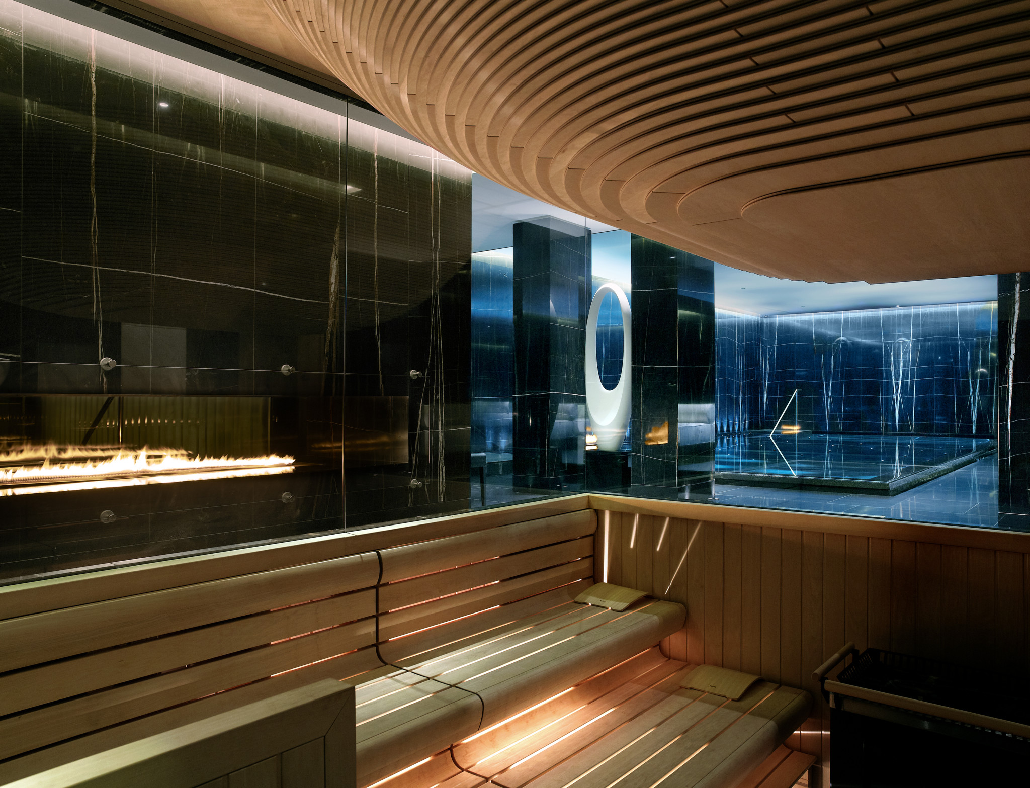 The Sauna ESPA life at Corinthia