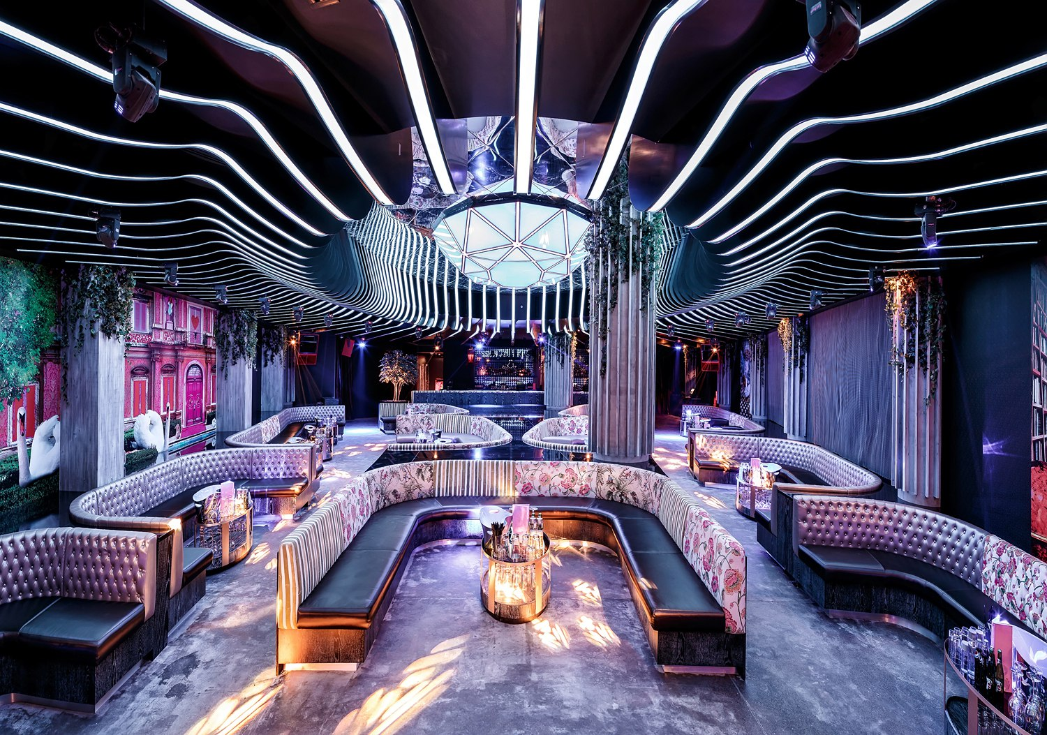 Provocateur night club in the Four Seasons Jumeirah Beach
