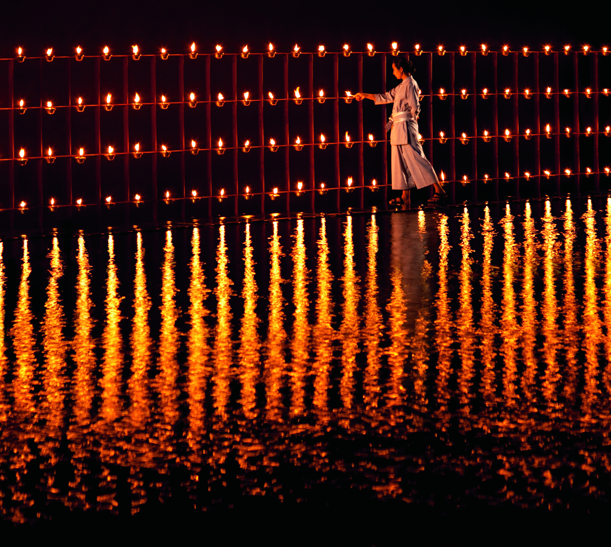 2,000 Candle dinner at Phulay Bay