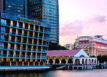Waterfront View of The Fullerton Bay Hotel Singapore