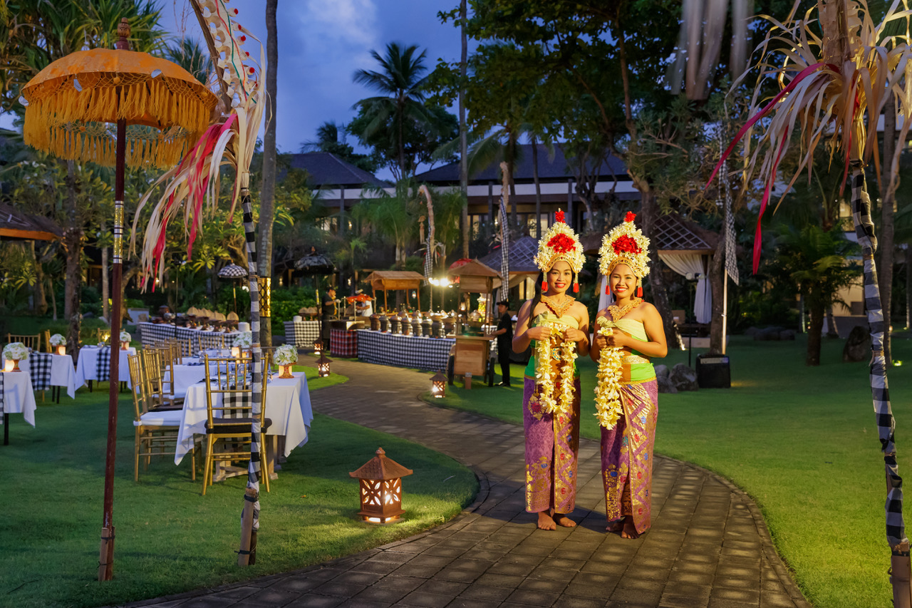 Balinese Dancer in Balinese Evening Dinner