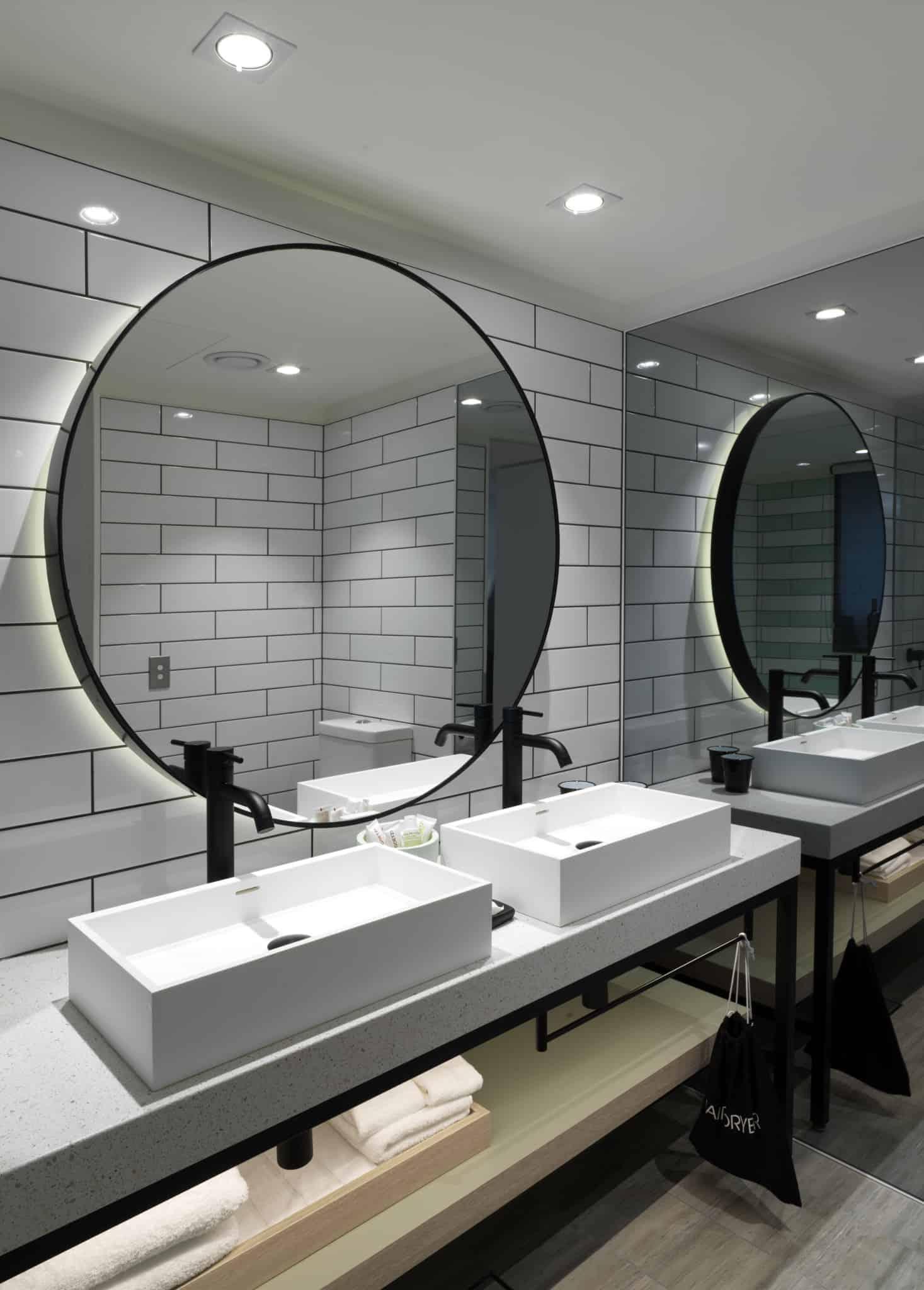 QT Bondi - Bathroom with Double Vanity