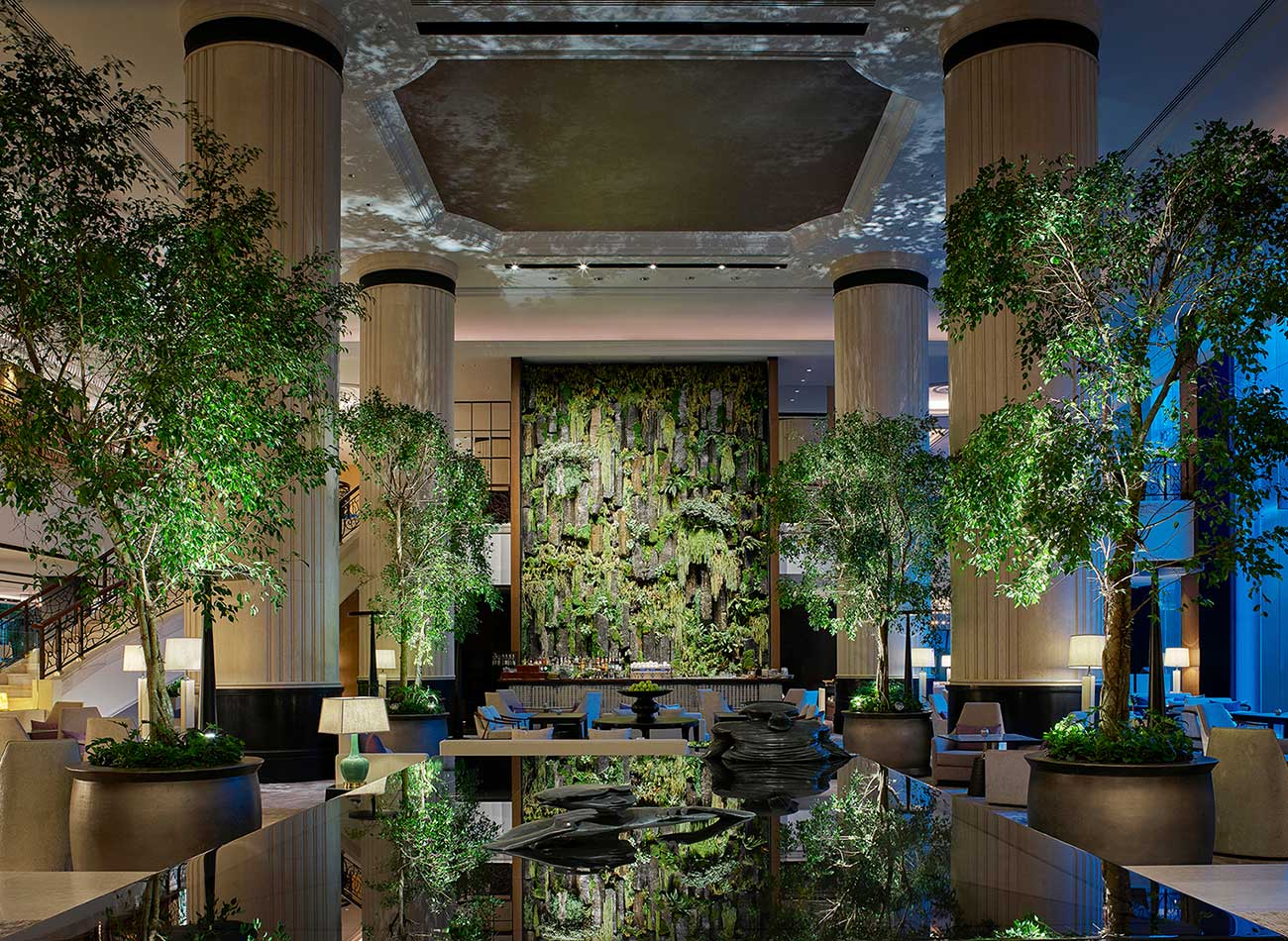 Shangri-la Singapore lobby