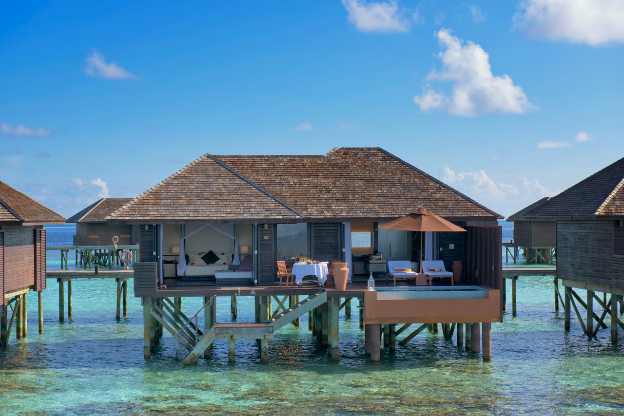 Deluxe Water Villa at Lily Beach