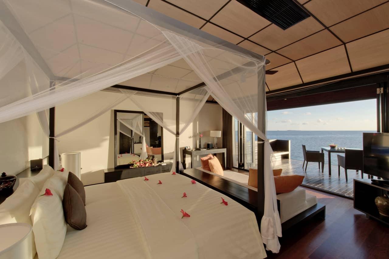 Sunset Water Suite bedroom
