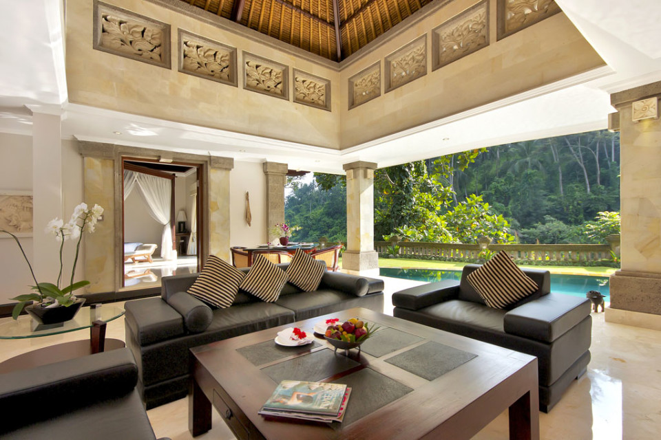 living room bali viceroy bali luxury villa resort in ubud the traveller 11446