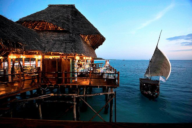 Best Beach Bars Zanzibar