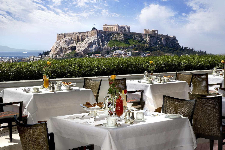 Grandbretagne Athens Roof Garden Restaurant