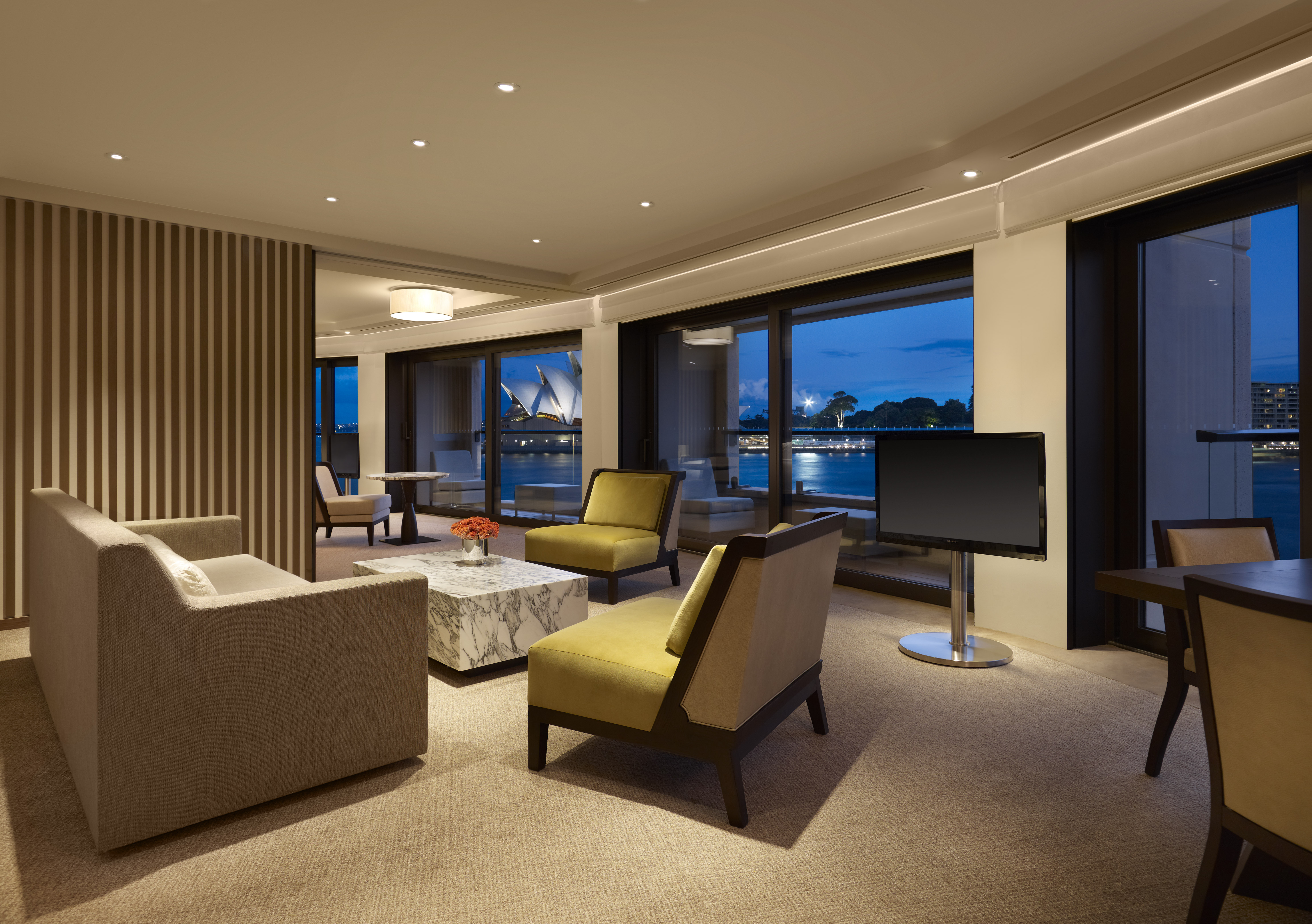 Decorated Dining Rooms Park Hyatt Sydney S Most Luxurious Hotel The Lux Traveller